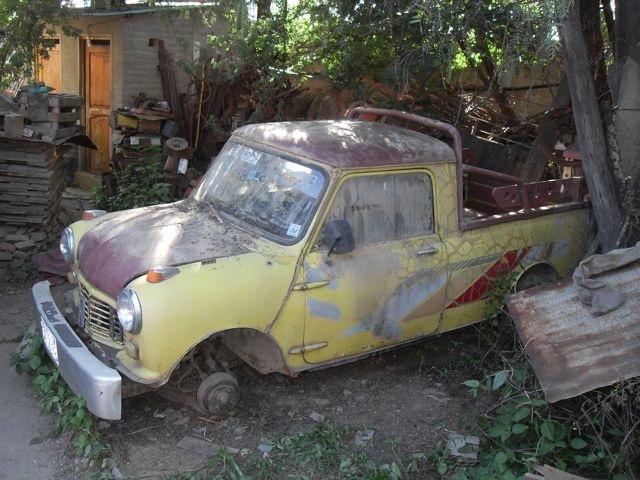 Mi nuevo proyecto camioneta mini forocoches - Mini clasico para restaurar ...